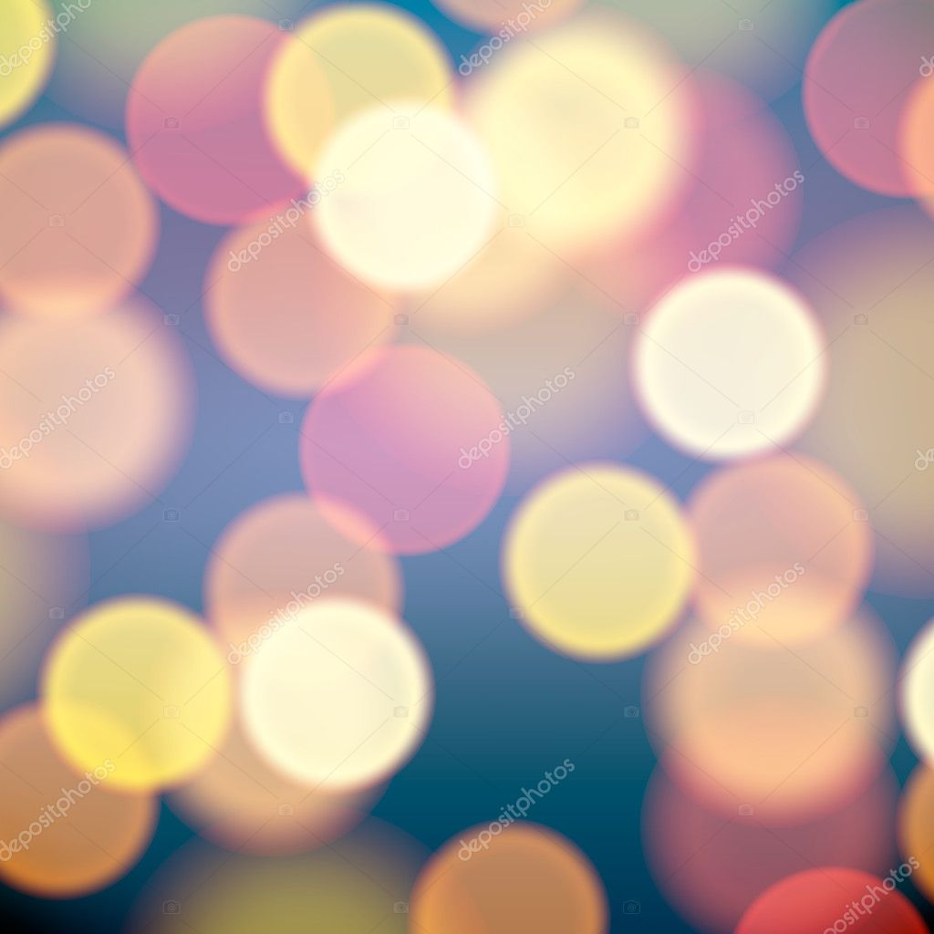 Christmas lights blurred background