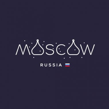 World Cities labels - Moscow.