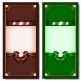 Fotografie Grußkarten-braun  grün