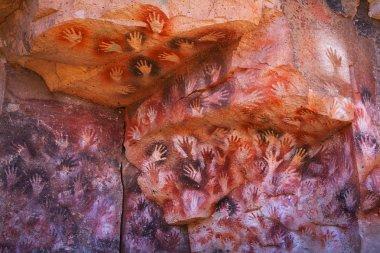 Cave paintings in the Cueva de las Manos