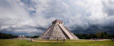 Mayan pyramid, Chichen-Itza, Mexico