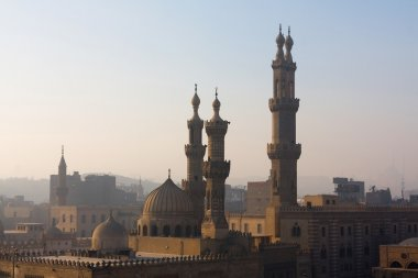 The minarets of Cairo