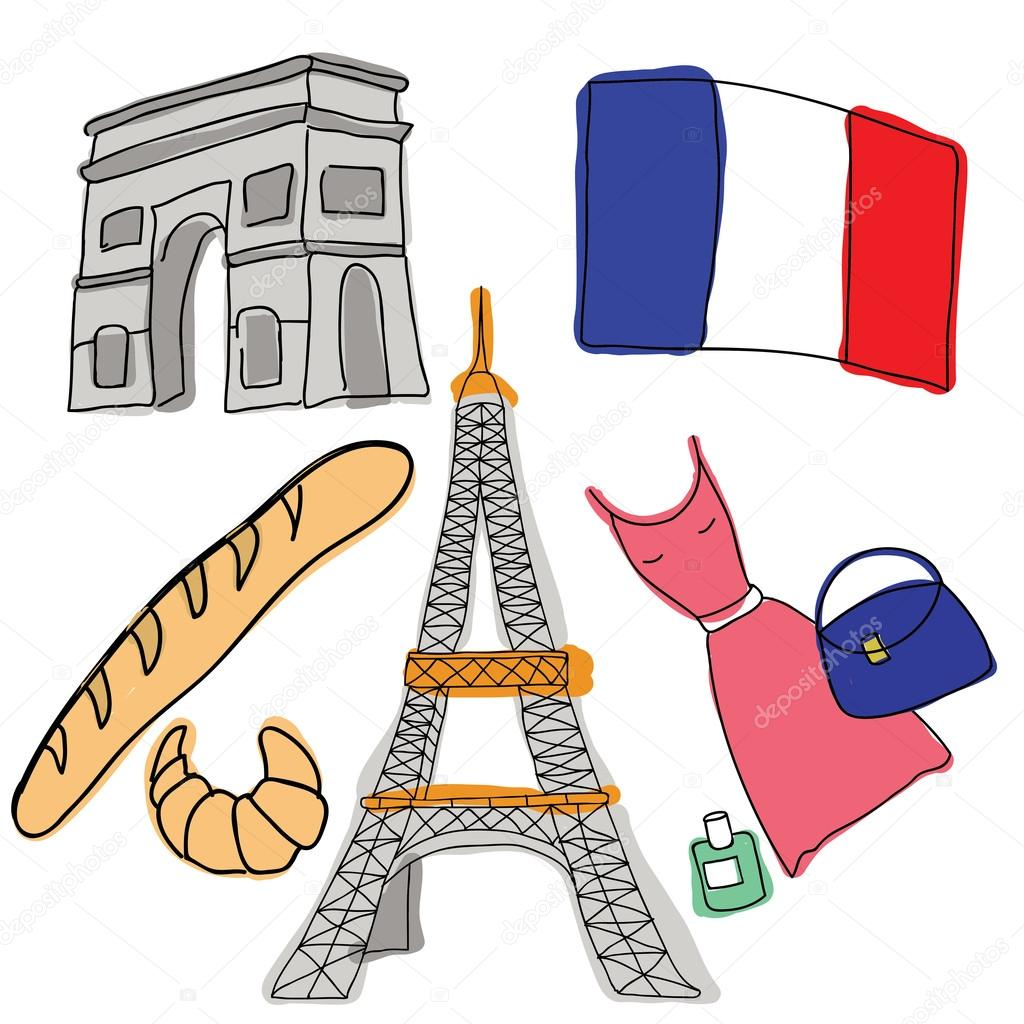 Vector symbols of france stock vector sunsinger 45230311 vector symbols of france stock vector biocorpaavc
