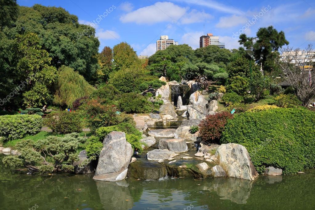Japanese garden, Buenos Aires — Stock Photo © sunsinger #46624789