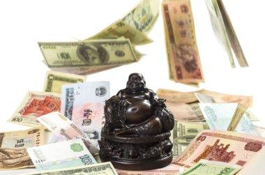 Hotei Buddha attracts monetary wealth
