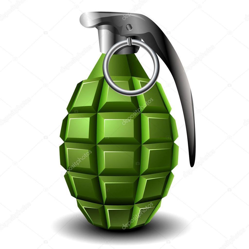 granada de mano archivo im u00e1genes vectoriales Skull Grenade Vector grenade image vector
