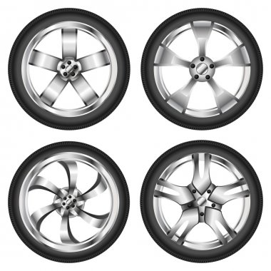 Car wheel set
