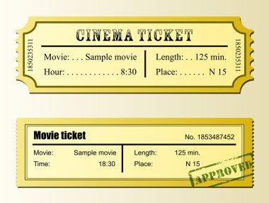 Cinema movie ticket