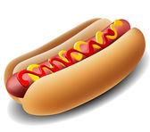 realistické hot dog