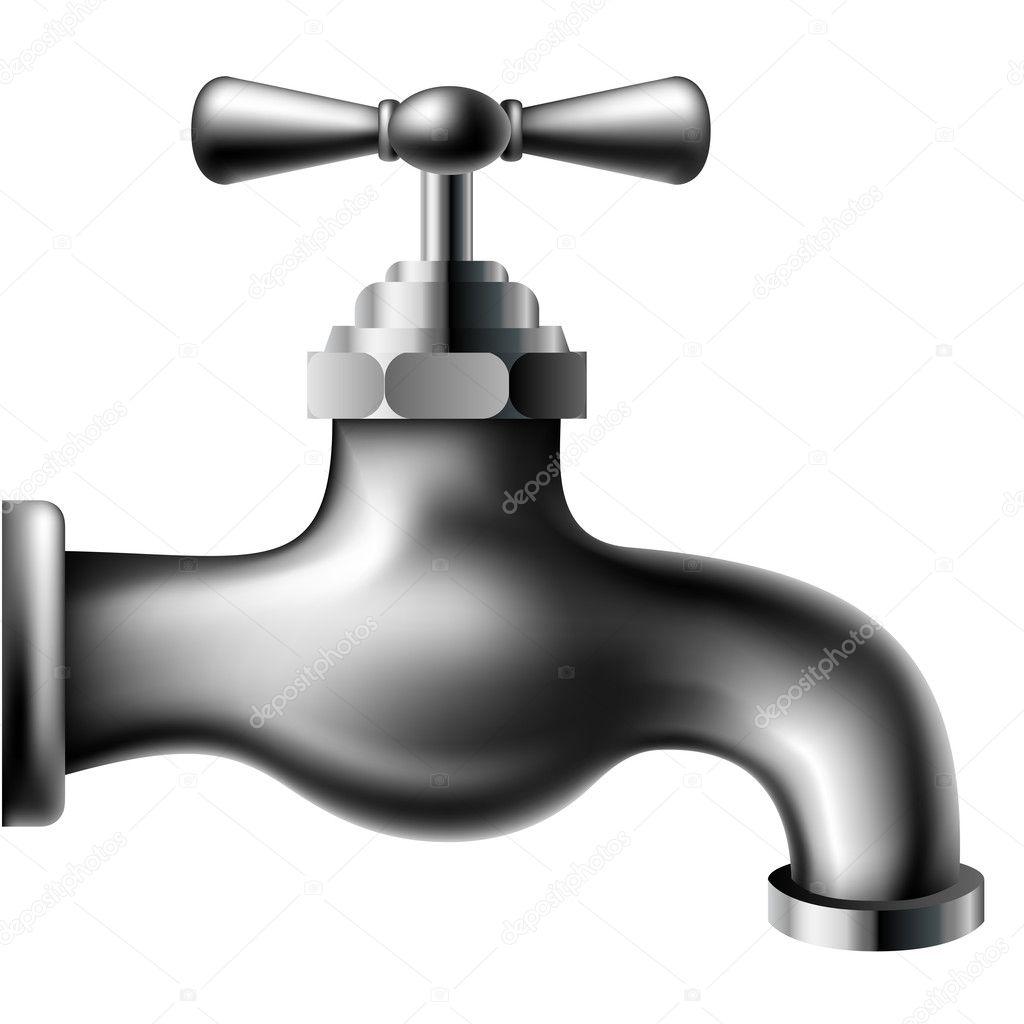 Metallic water tap