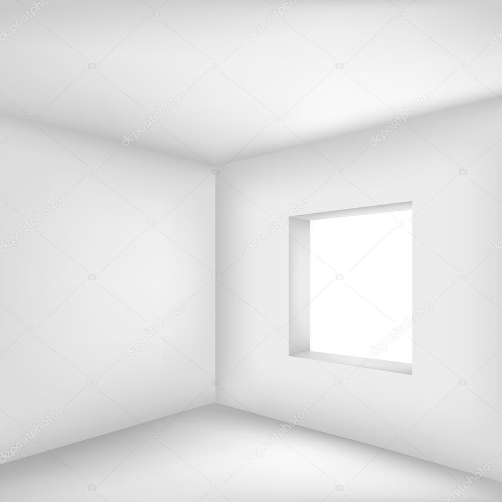 Stock White Room