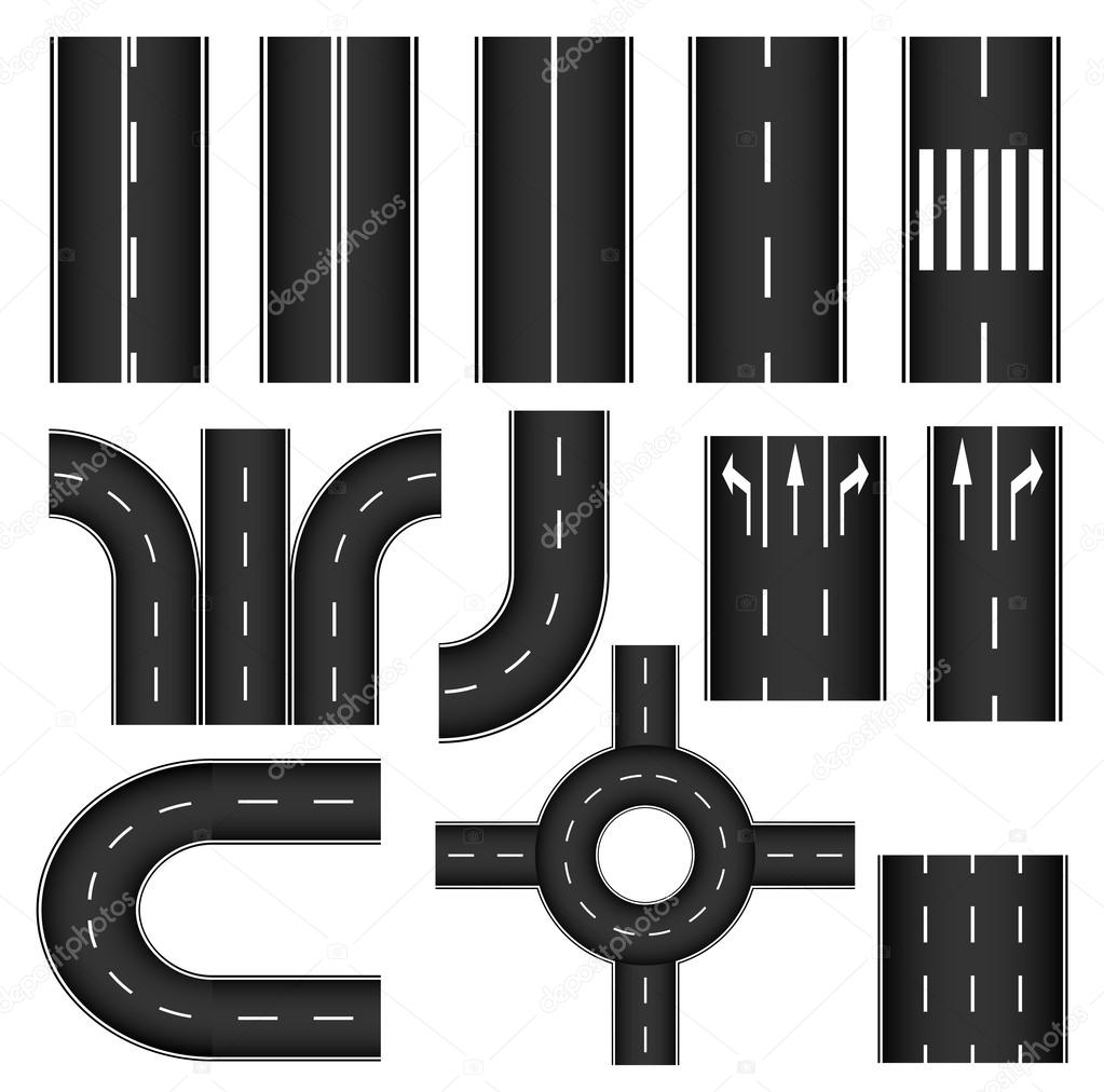 Road element set