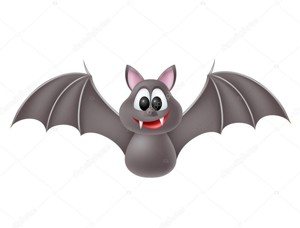 Muitas vezes morcego bonito dos desenhos animados — Vetores de Stock  HI84