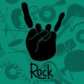 A rock and roll jel háttér