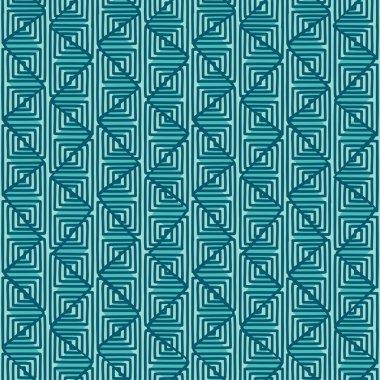 Ethnic geometric seamless pattern