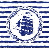 plavební znak s plachetnice