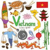 Fényképek vietnami ikonok gyűjteménye
