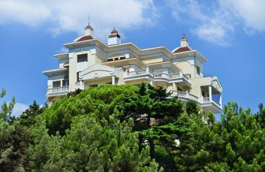 Yalta, Crimea, architecture, Real Estate. Beautiful, modern house, hotel