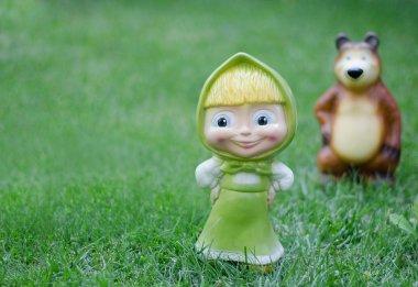 Masha, a bear - cartoon characters
