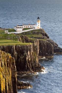 Lighthouse at Neist Point, Isle Of Skye, Scotland, UK