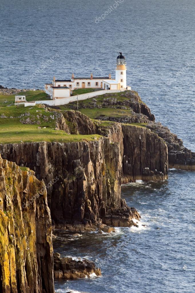 Lighthouse at Neist Point, Isle Of Skye, Scotland, UK