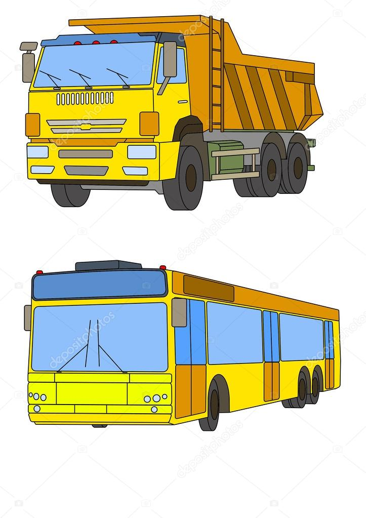 Malvorlagen für Kinder-Autos — Stockfoto © MORTAZZA #40086317