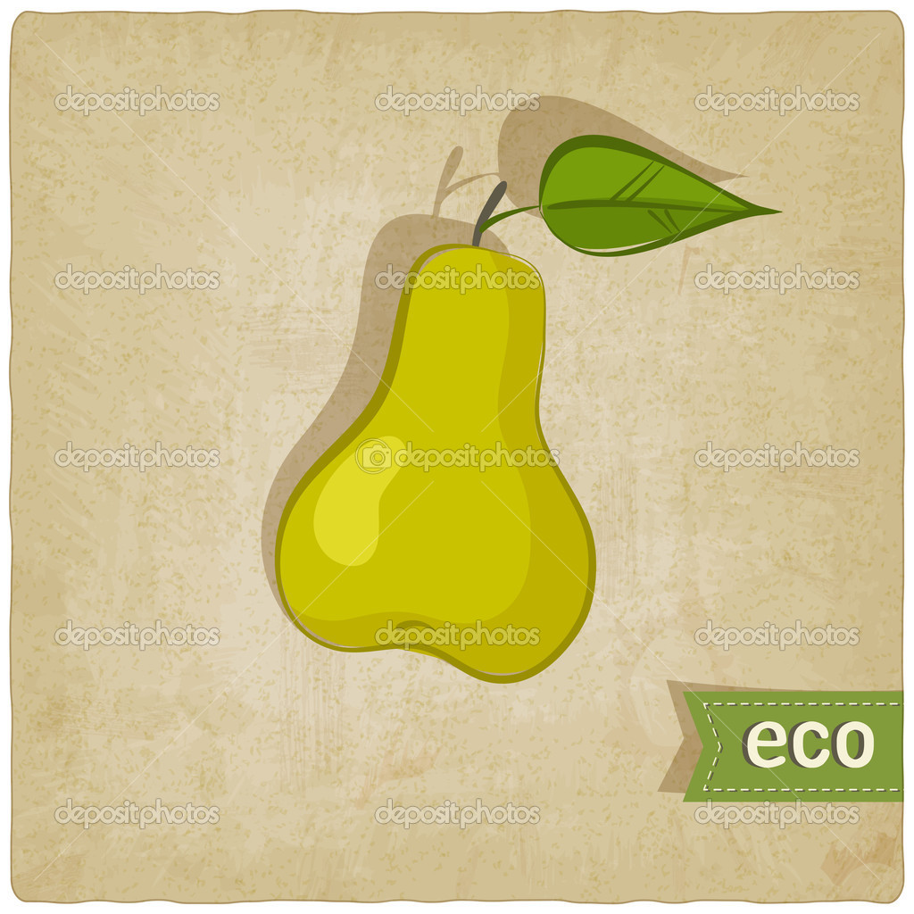 Fruit eco old background