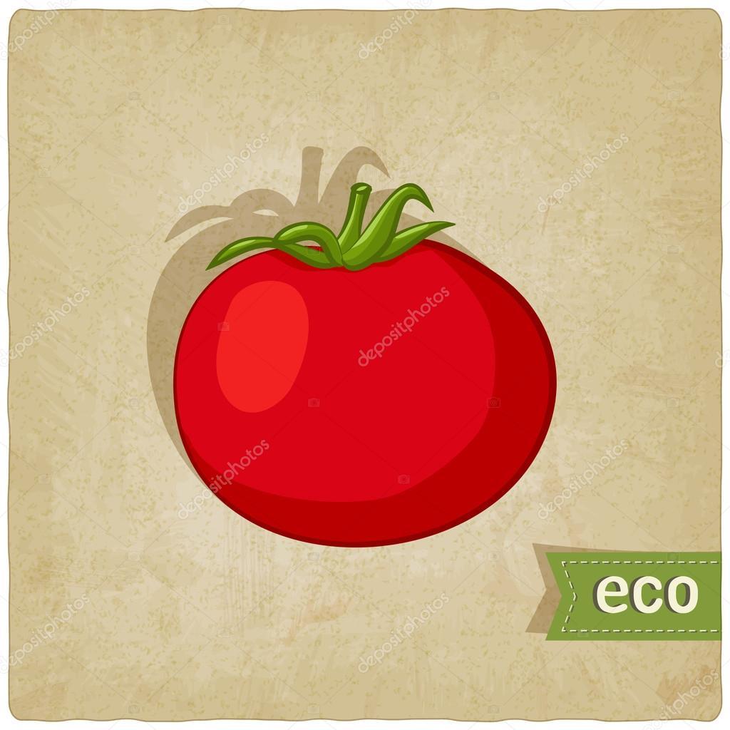 tomato eco background