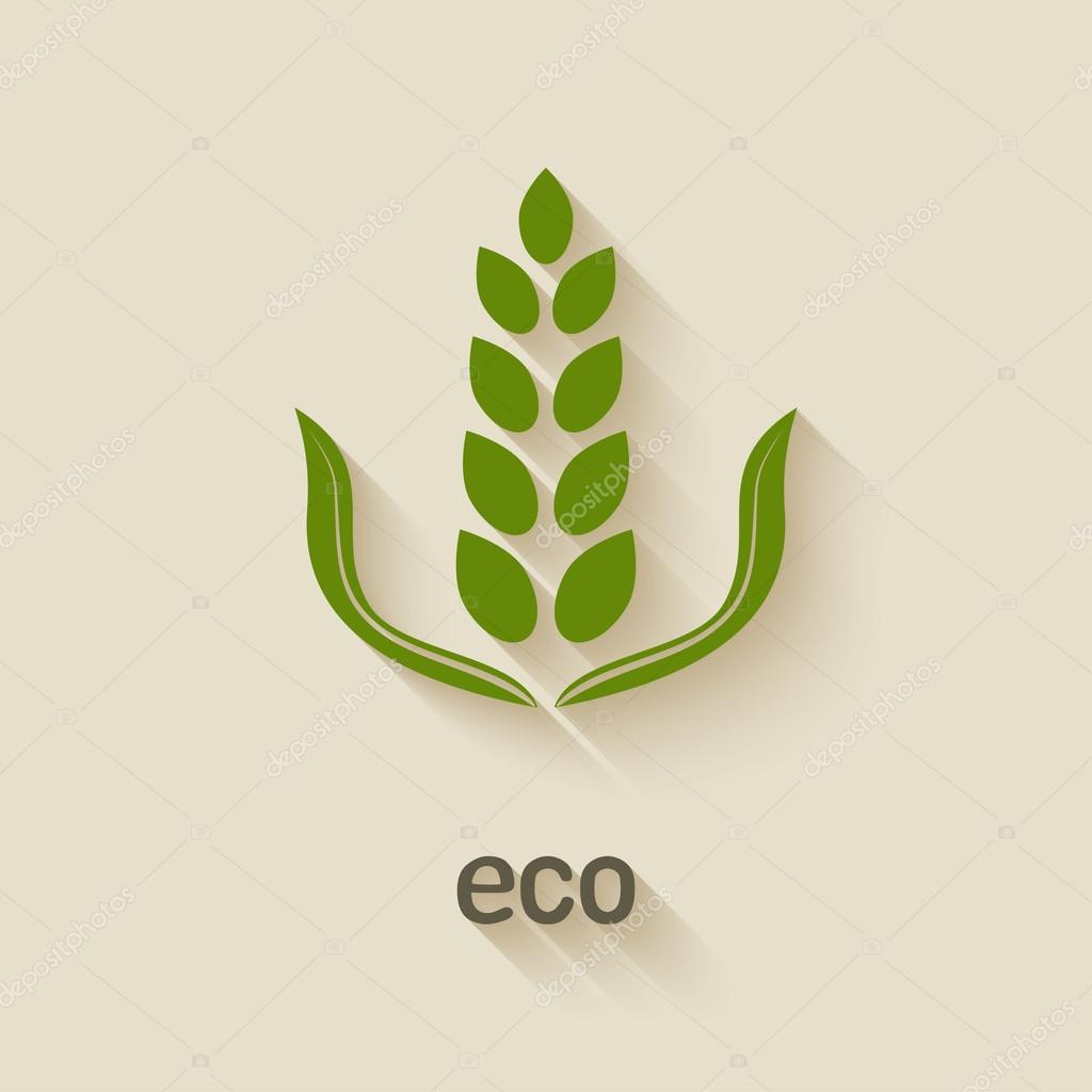 green eco icon
