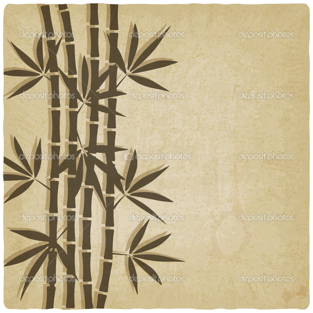 bamboo old background