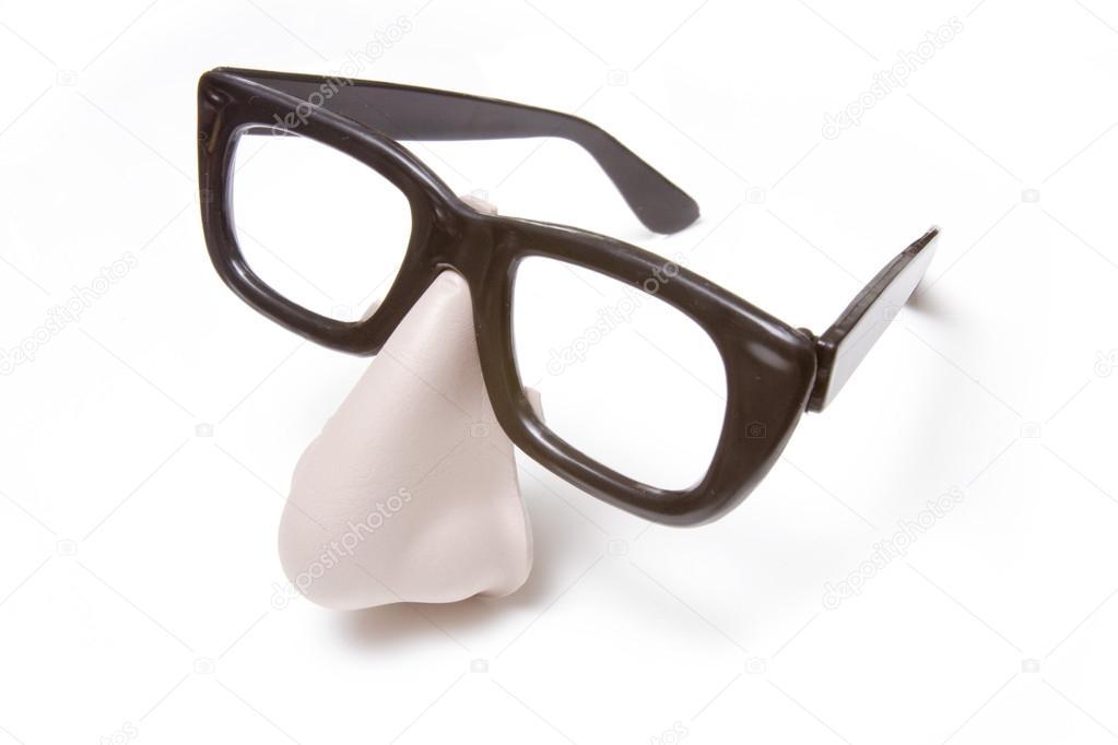 50ca1735a8f1d disfarce óculos e nariz — Stock Photo © west1  17206211