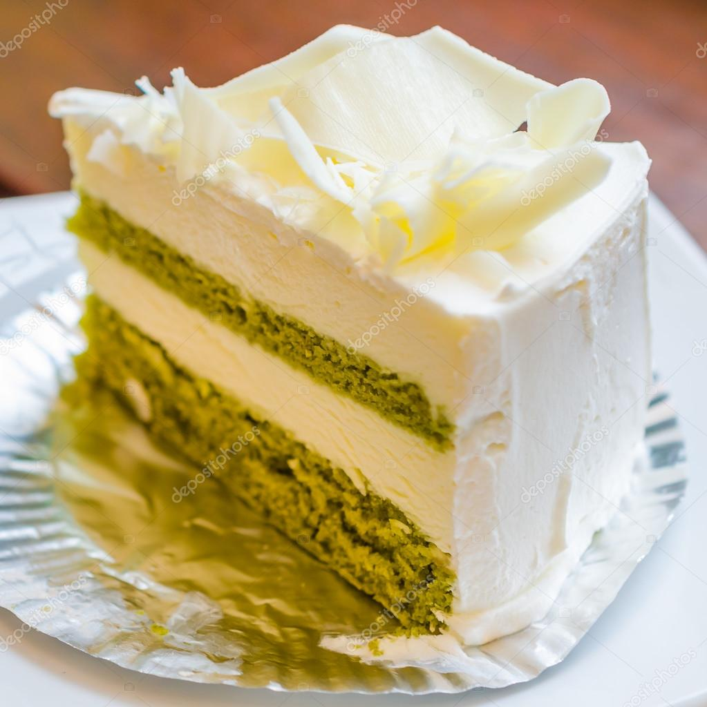 Weisse Schokolade Kuchen Stockfoto C Mrsiraphol 33096247
