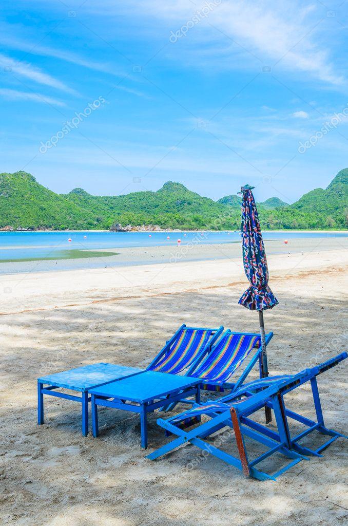Bett Am Strand In Thailand Stockfoto C Mrsiraphol 33096953