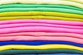 barevné bavlněné tričko