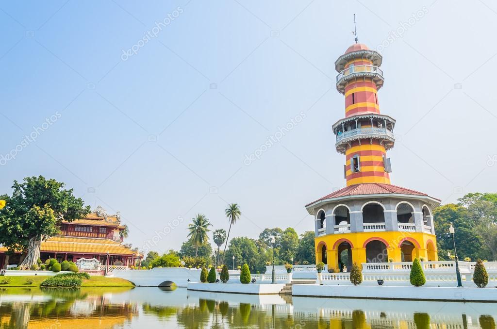 Tower in bang pa