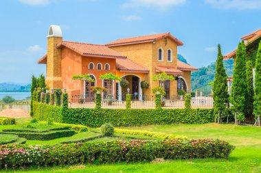 Tuscany House stock vector