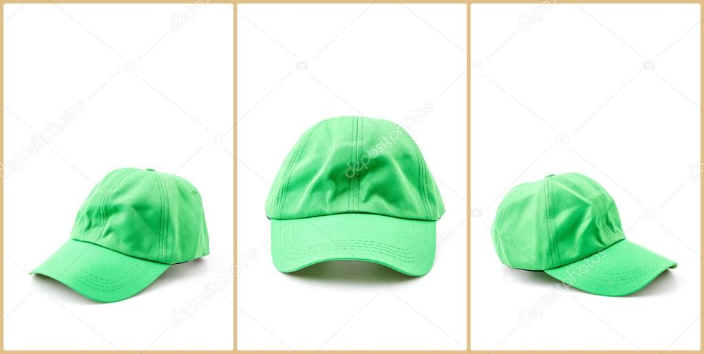 gorra de béisbol fondo blanco aislado — Fotos de Stock © mrsiraphol ...