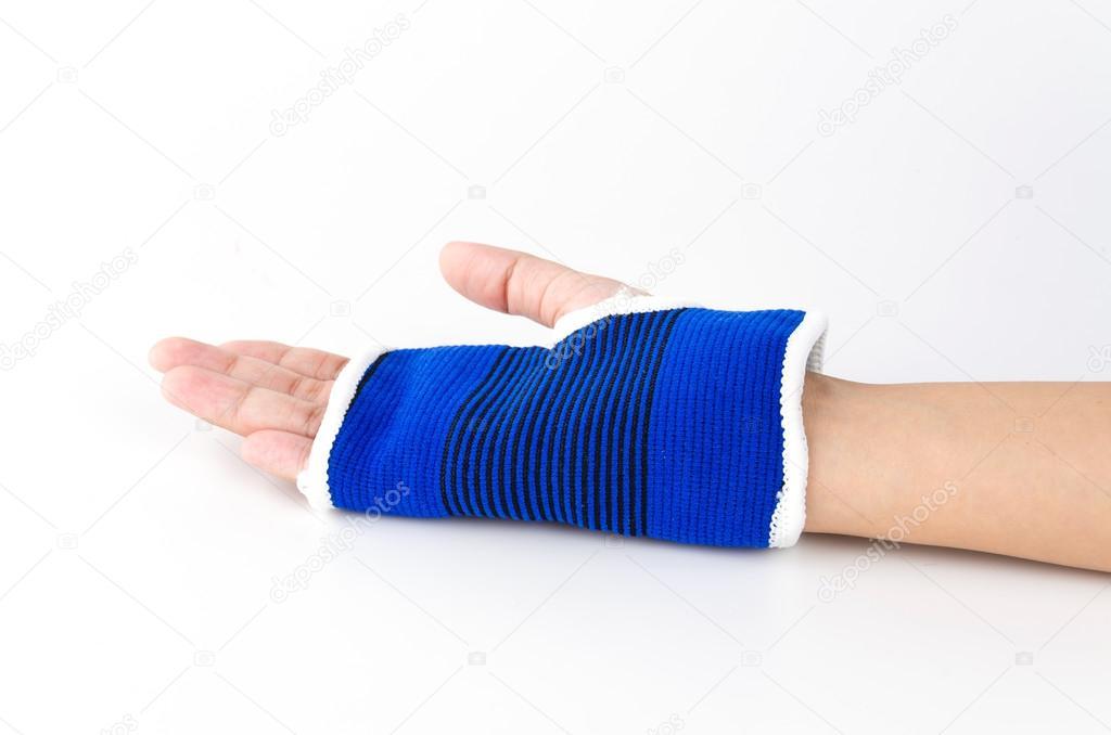 Handgelenk Schiene hand — Stockfoto © mrsiraphol #47603119