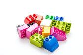 Plastické bloky hračka