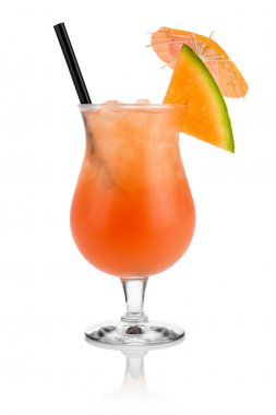 Cantaloupe cocktail