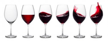 Red wine splash collection