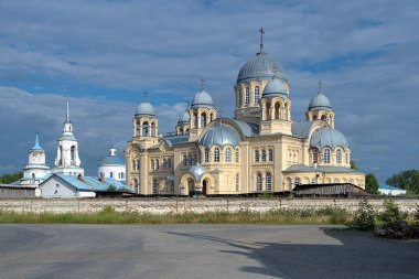 The Holy Cross Cathedral in Verkhoturye, Russia
