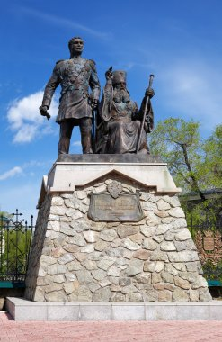 Monument to Nikolay Muravyov-Amursky and Saint Innocent