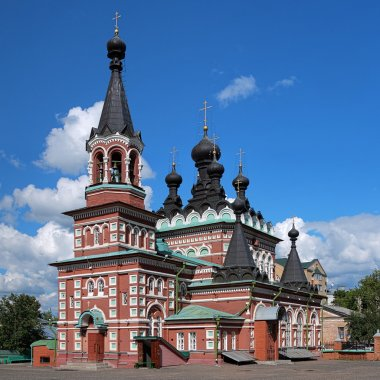 Cathedral of Seraphim of Sarov in Kirov, Russia
