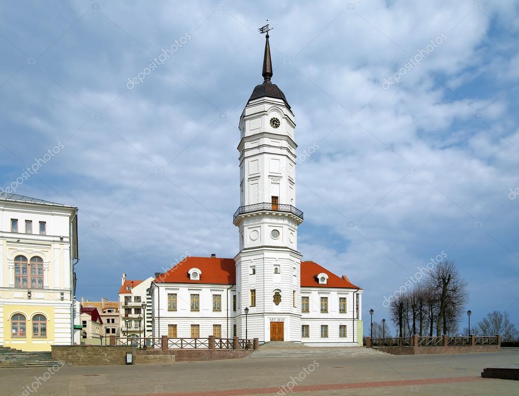 市庁舎のマヒリョウ、ベラルーシ...