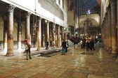 Fotografie Interiér chrámu narození Páně v Betlémě