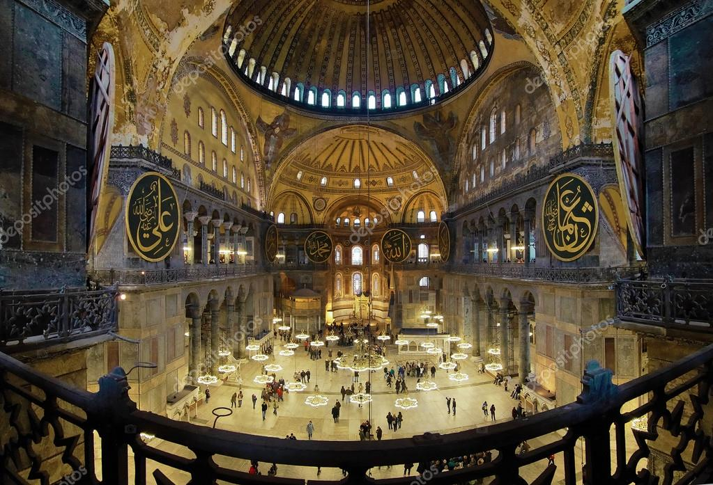 Good Interior Of The Hagia Sophia In Istanbul U2014 Stock Photo