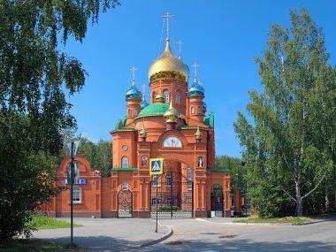 Church of Seraphim of Sarov in Yekaterinburg