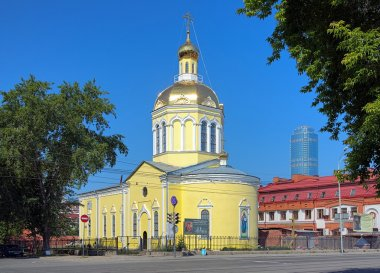 Church of the Holy Cross Exaltation in Yekaterinburg, Russia