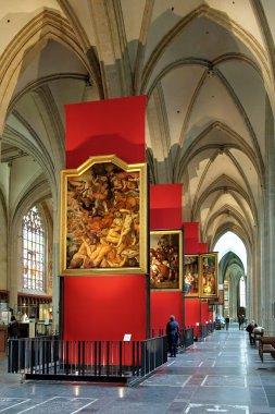 Paintings of Peter Paul Rubens in Antwerp Cathedral